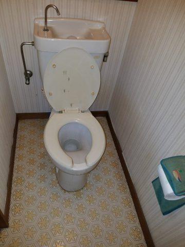 既設トイレ入替え