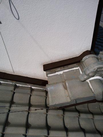 姫路市 梅雨が来る前に庇の塗装