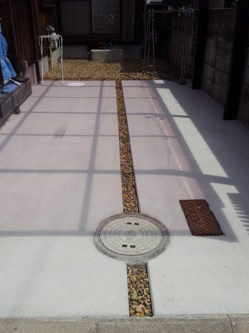 土間改修工事