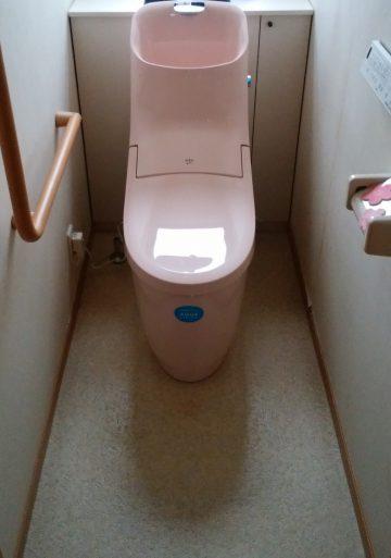 高砂市 トイレを節水タイプに取替え