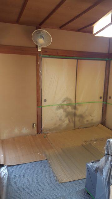 壁塗り替え工事