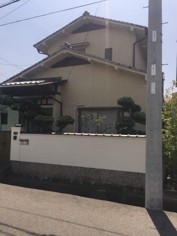 姫路市 そろそろ外壁塗装を
