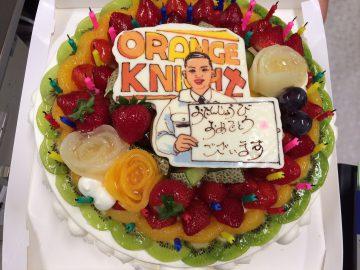 オレンジナイトケーキ