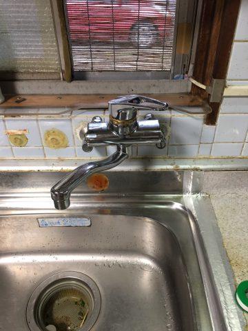 姫路市 台所の蛇口ハンドルが固くなってきた