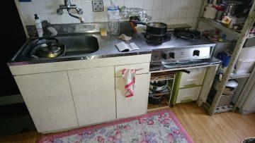 キッチン取替前