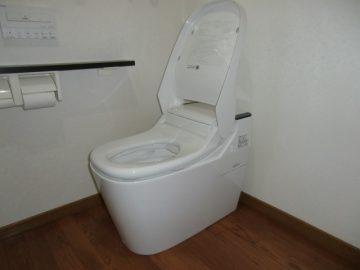 赤穂郡上郡町 新型アラウーノプランでトイレ取替工事