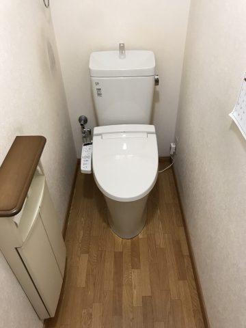 姫路市 トイレのシャワー便座から水が漏れている