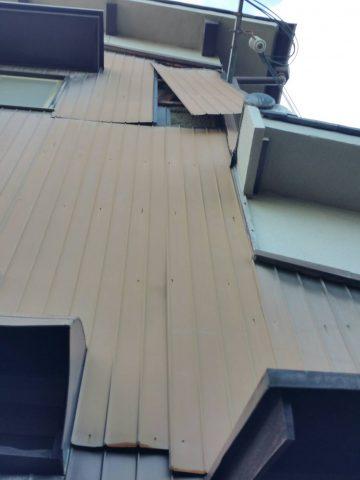 トタン修理 台風 姫路市