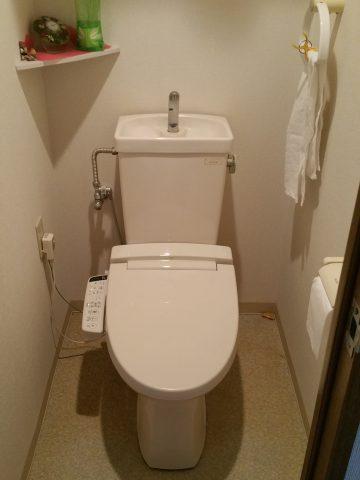 TOTOトイレからTOTOのHVへ取り替え