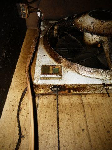 姫路市 台所換気扇の取り替え