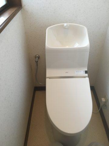 姫路市 トイレ交換工事