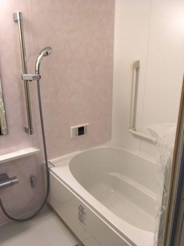 姫路市 マンションの浴室工事