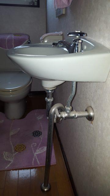 手洗い取替工事
