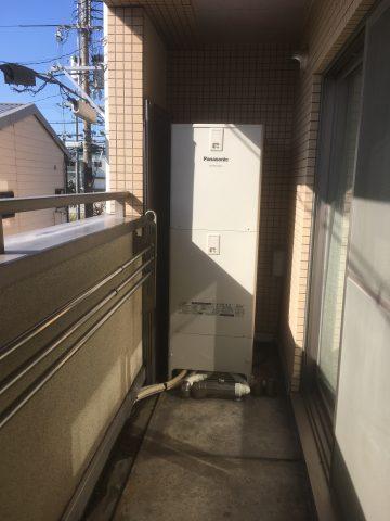 姫路市 エコキュート設置工事