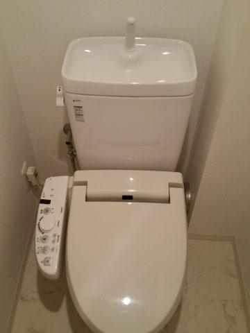 INAX床上排水 マンショントイレ取替