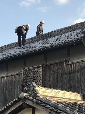 姫路市 屋根瓦の現場調査