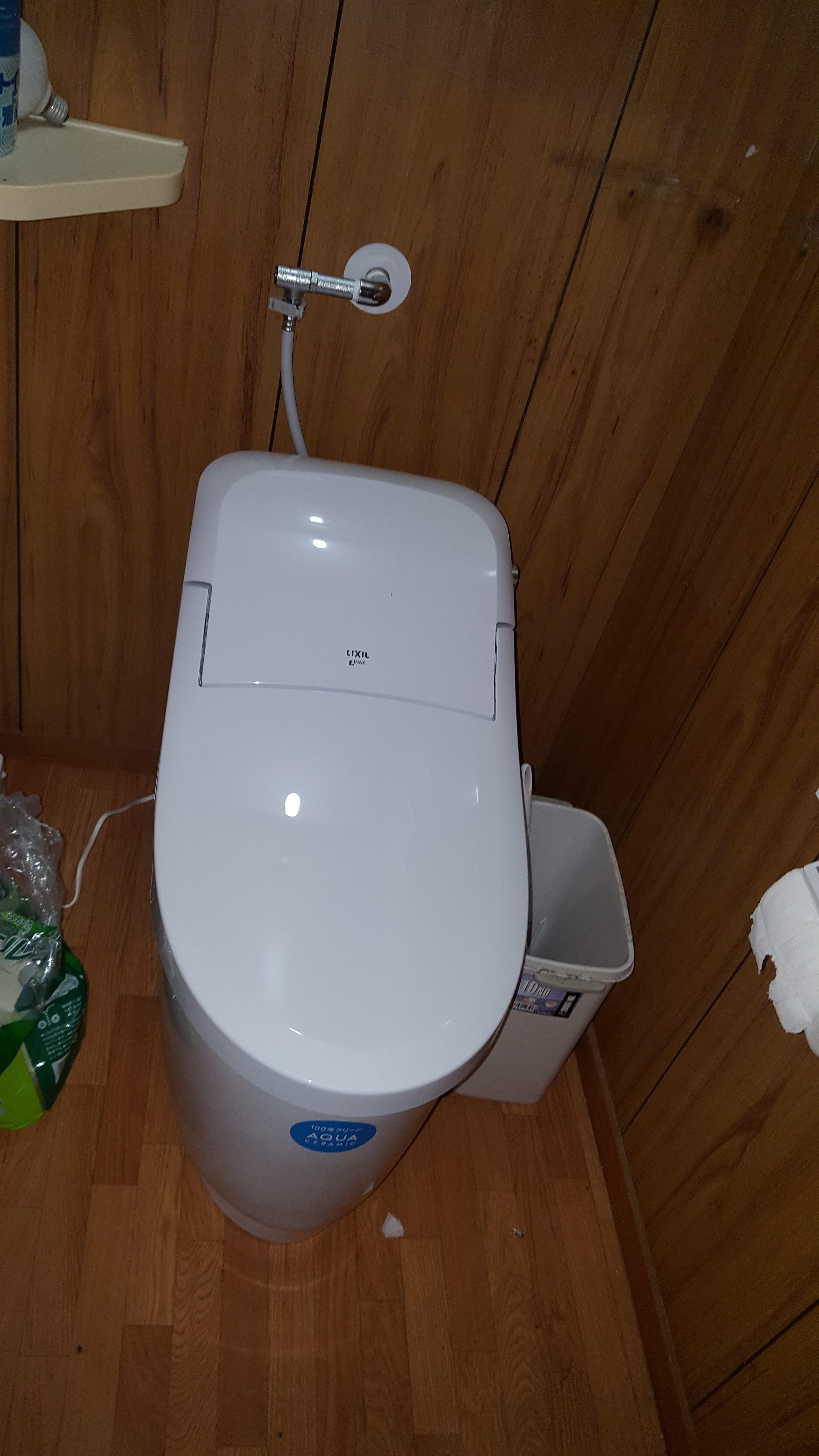 赤穂市 アパートのトイレ交換