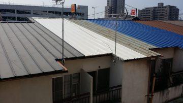 加古川市 屋根瓦棒塗装