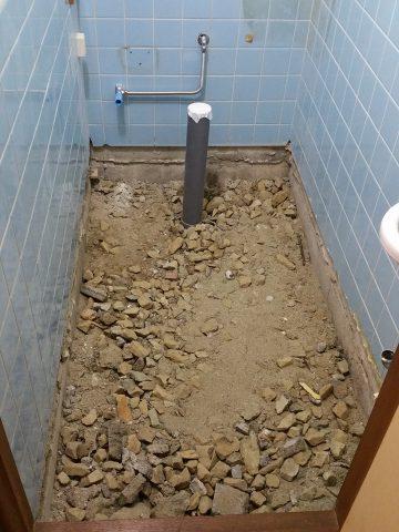 給水位置変更 工事