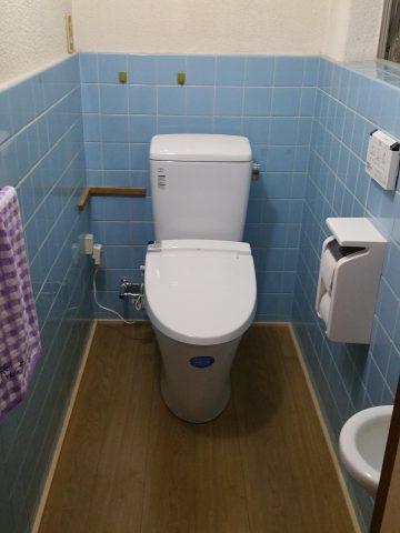 トイレ工事 和式をようしきに