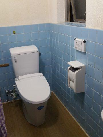 姫路市 和式トイレを洋式トイレにリフォーム