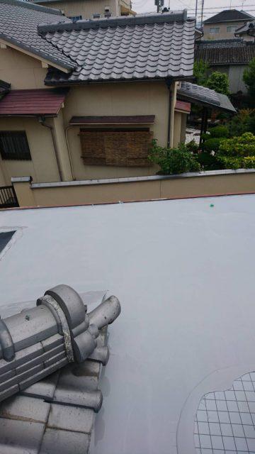 姫路市 屋外トイレの屋根防水工事