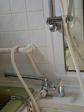 デッキシャワー水栓