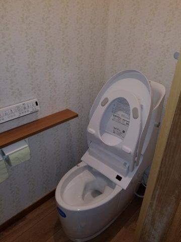節水トイレ