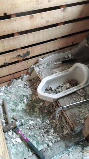 姫路市 和式トイレから洋式トイレ