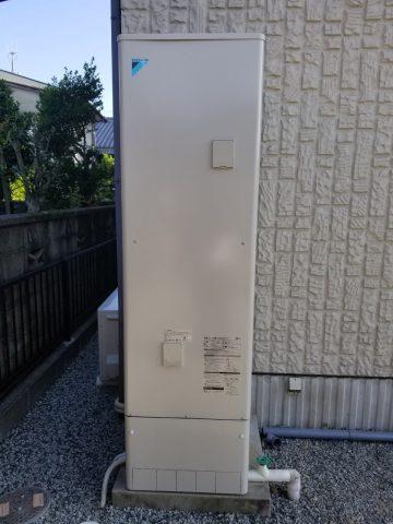 姫路市 エコキュート入替え工事