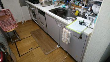 キッチン施工前①
