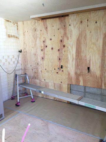 キッチンパネル下地2