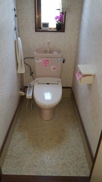 赤穂市 トイレ交換工事