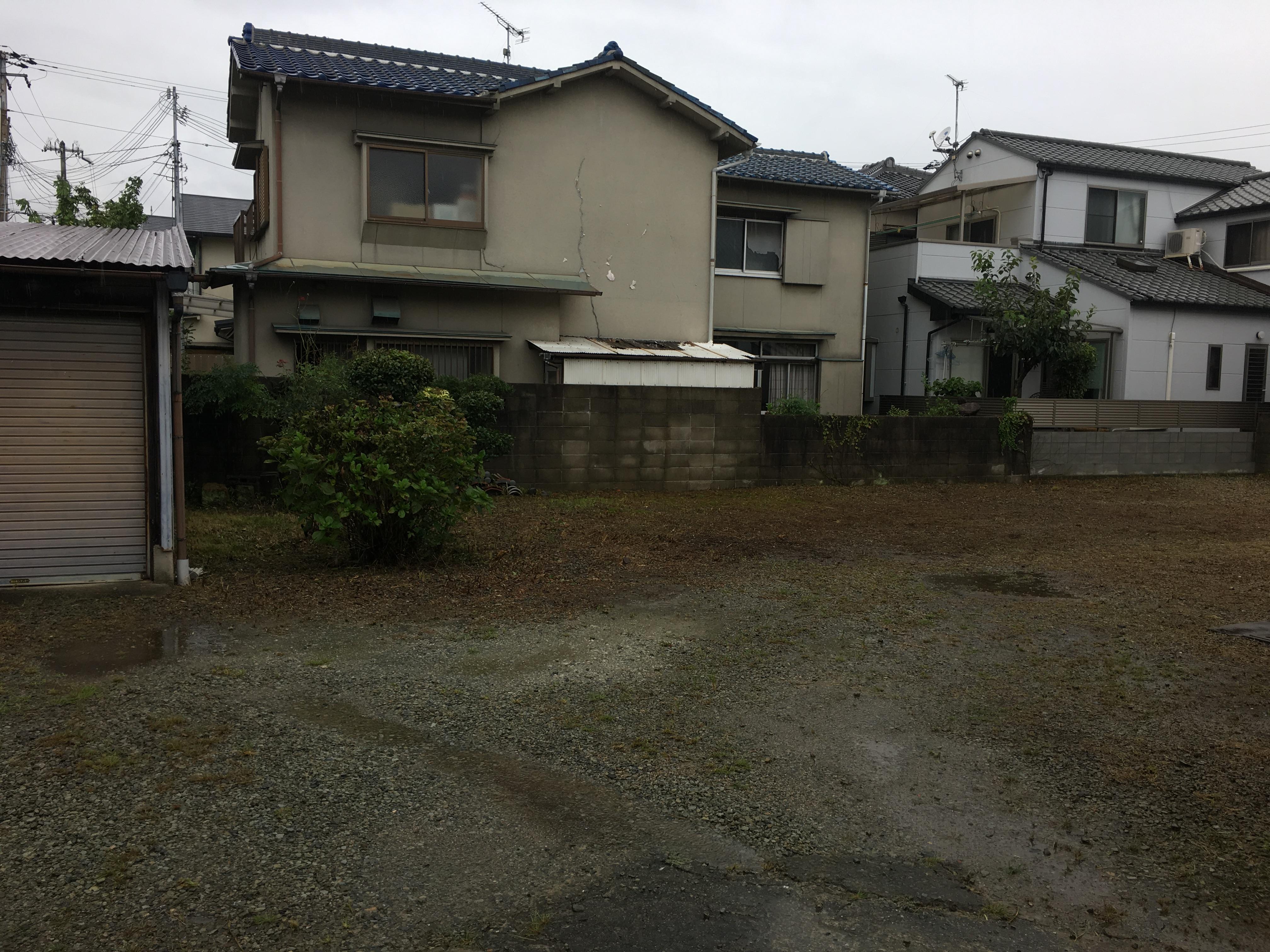姫路市 お庭の植木剪定と草引き