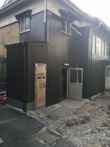 姫路市 店舗の解体工事