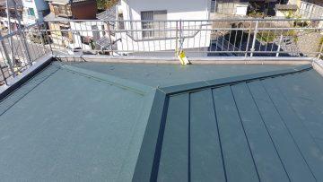 屋根葺き替え写真