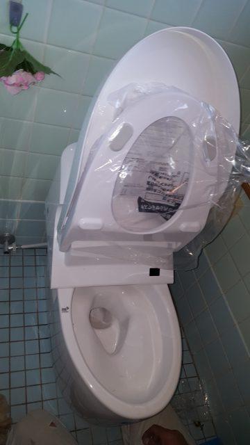 トイレ交換工事プレアス