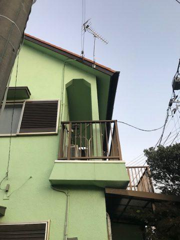 姫路市  TVアンテナの取付