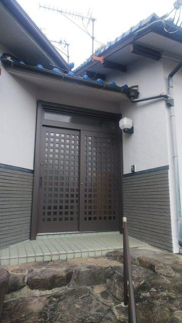 姫路市 玄関リフォーム工事