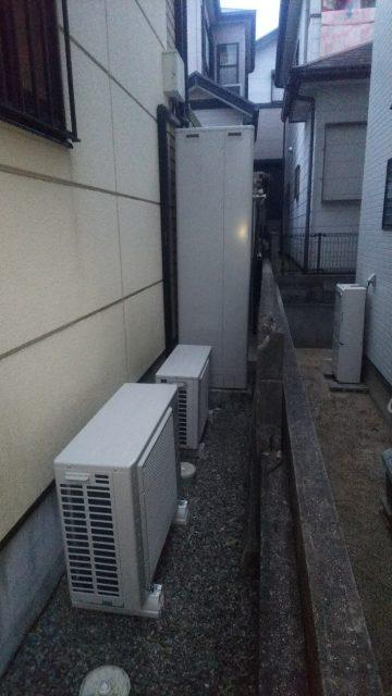加古川市  エコキュート設置工事