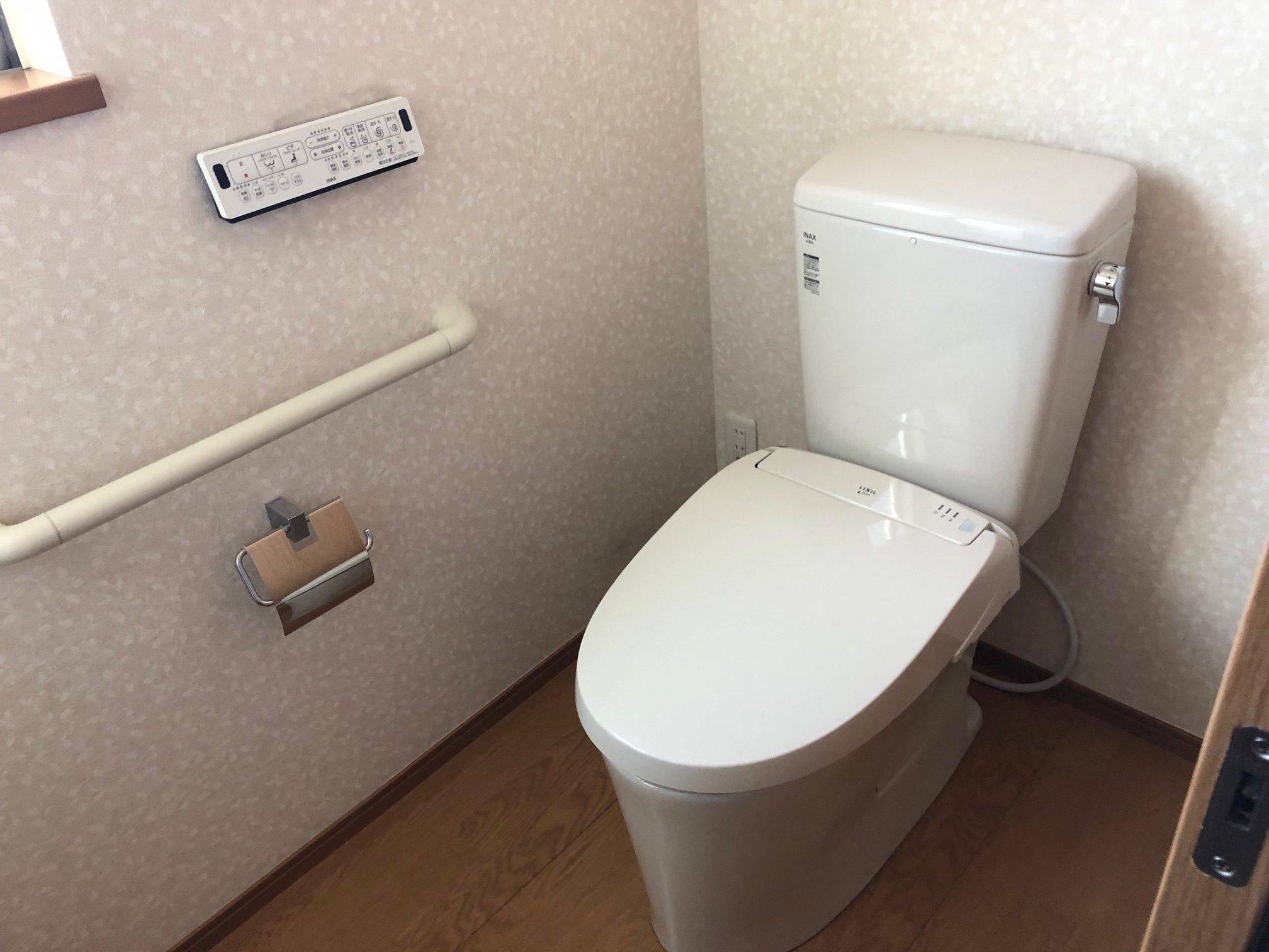 姫路市 トイレ水漏れで交換