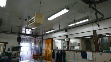 たつの市 工場の改修工事