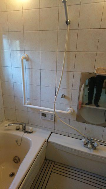 浴室取付後②