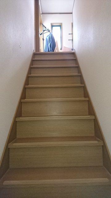階段着工前②