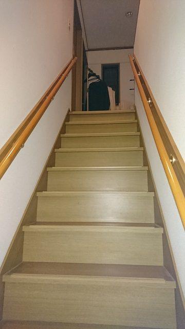 階段着工後①