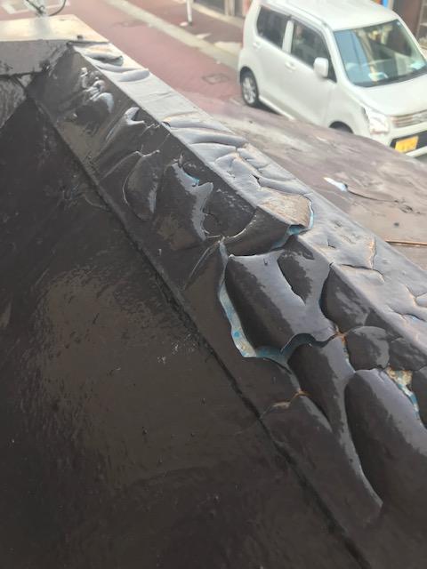 姫路市 一度塗装した所が、、、