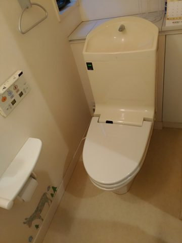 トイレ アラウーノSⅡ取替