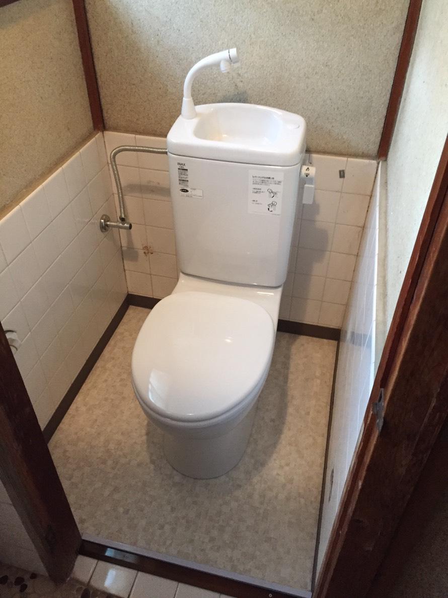 神崎郡 簡易水栓トイレ工事