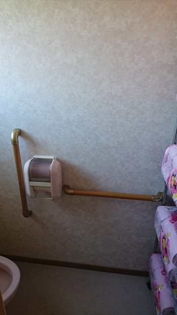 2階トイレ取付後