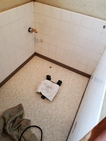 簡易水栓トイレ